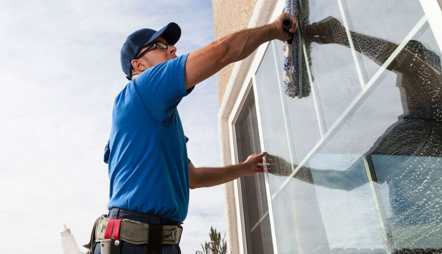 Home window cleaning