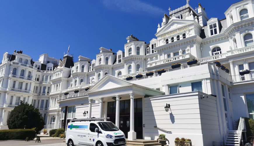 Window cleaning in Eastbourne